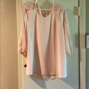 Est. 1956 Women's Light Pink/ Blush Dress Shirt